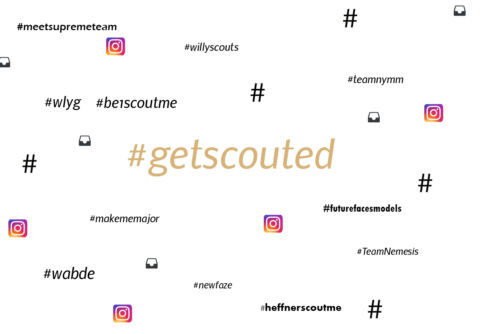 GET SCOUTED ON INSTAGRAM